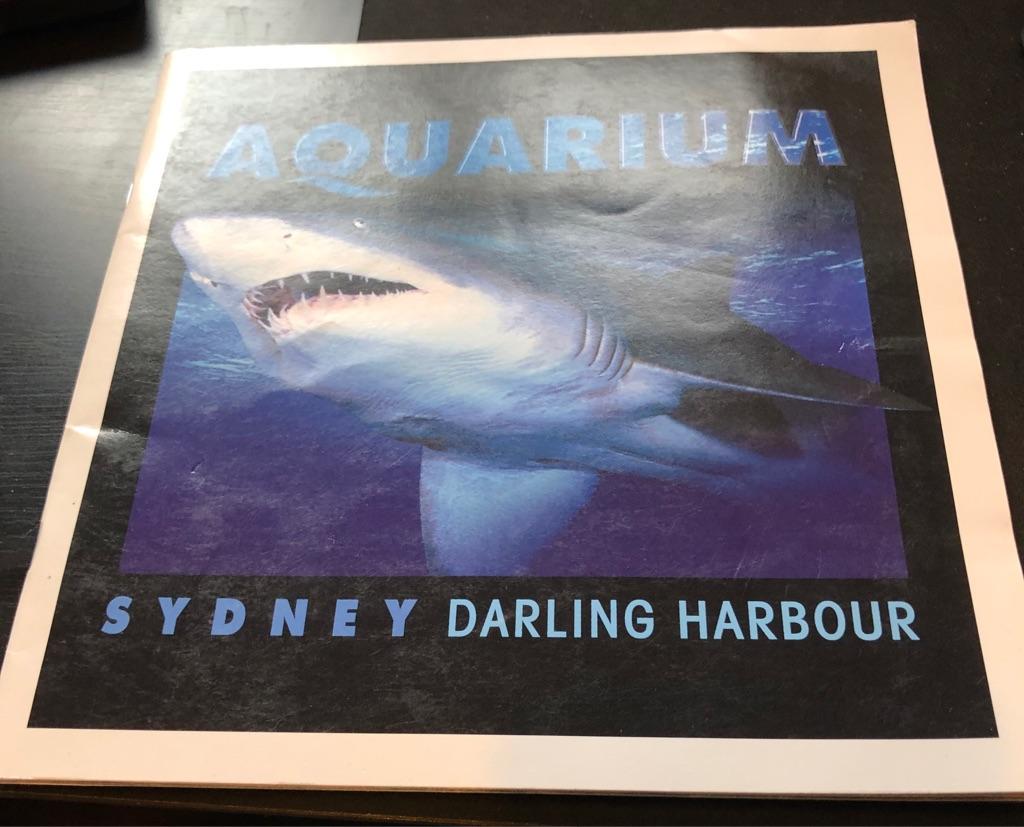 AQUARIUM SYDNEY DARLING HARBOUR BOOK