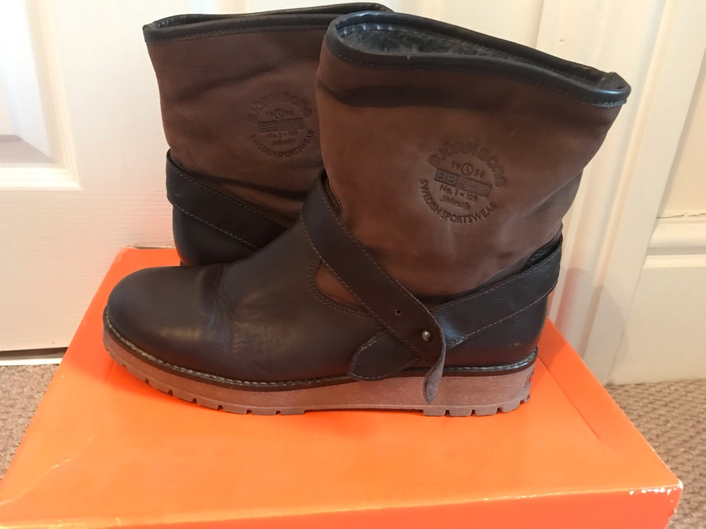 Björn Borg leather women boots size 6.5