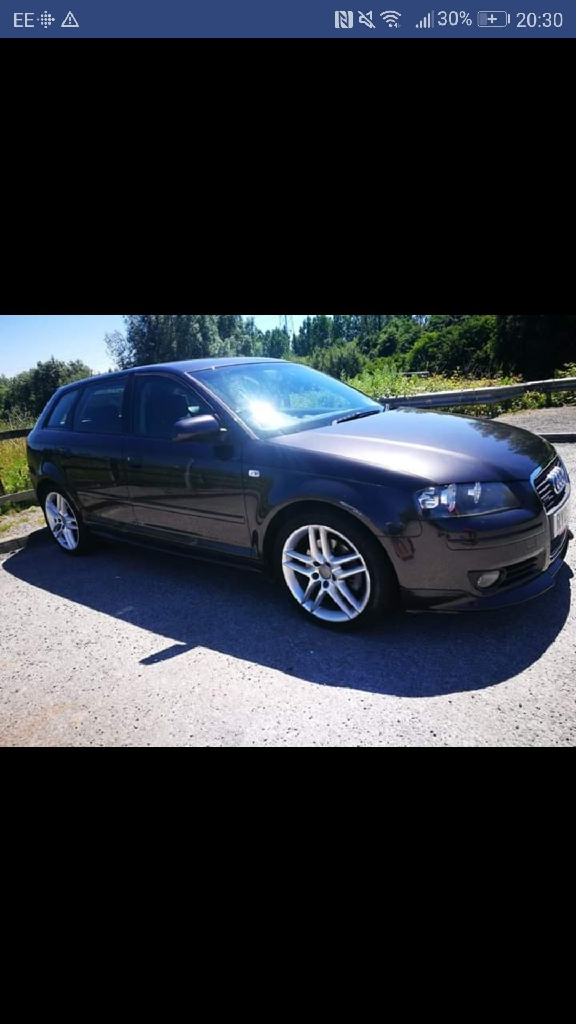 2005 Audi A3 2.0l quattro petrol with Sline body kit.
