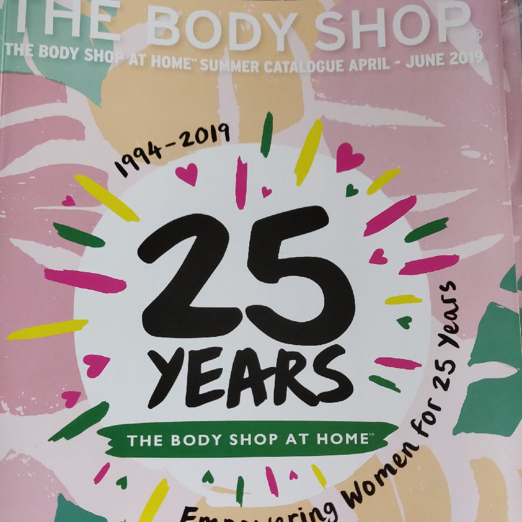 Body Shop At Home brochure
