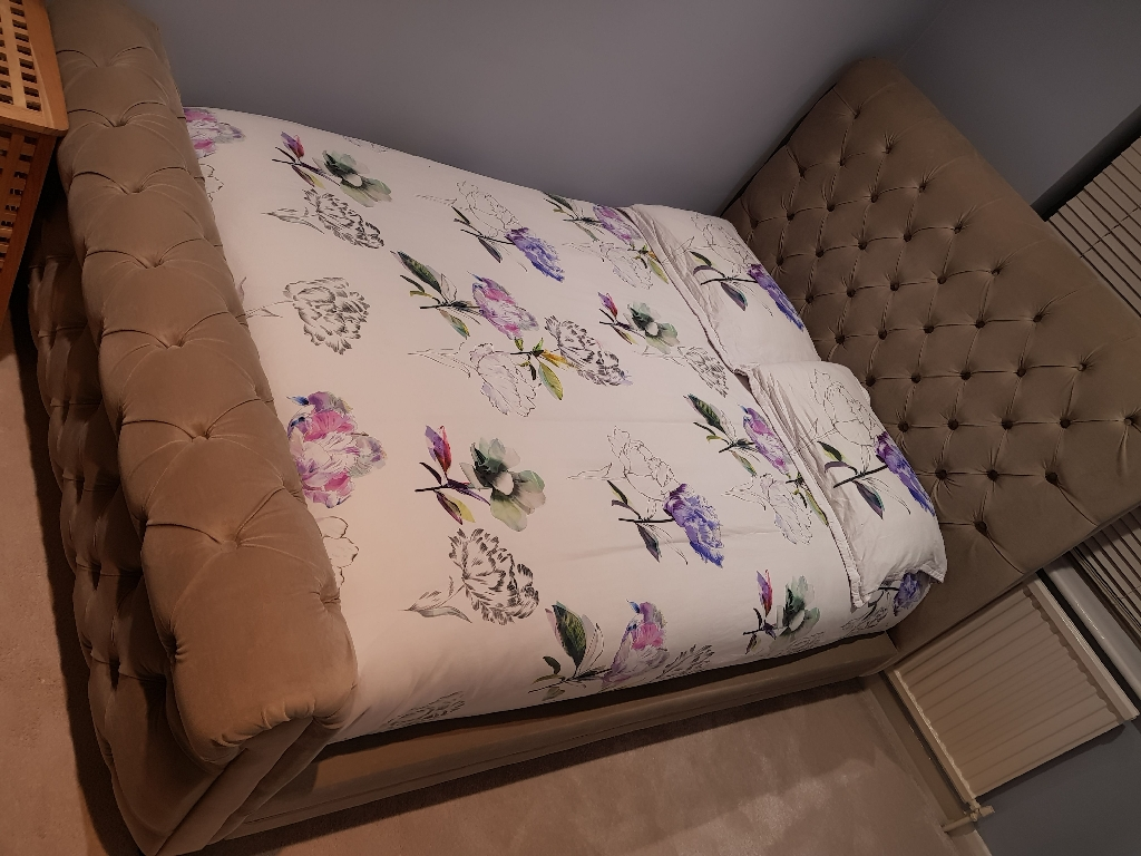 SPARE room double bed frame