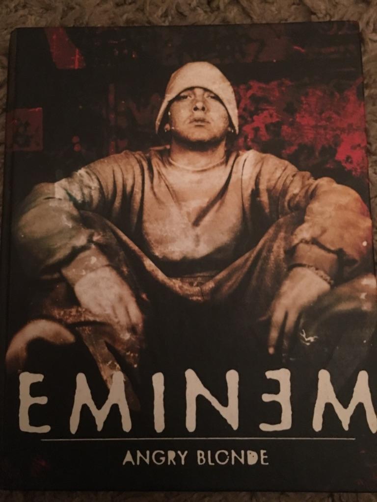 Eminem hard back 20yr old book collectors edition