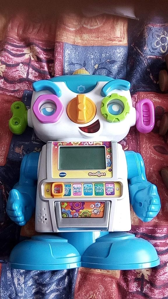 Vtech gadget robot
