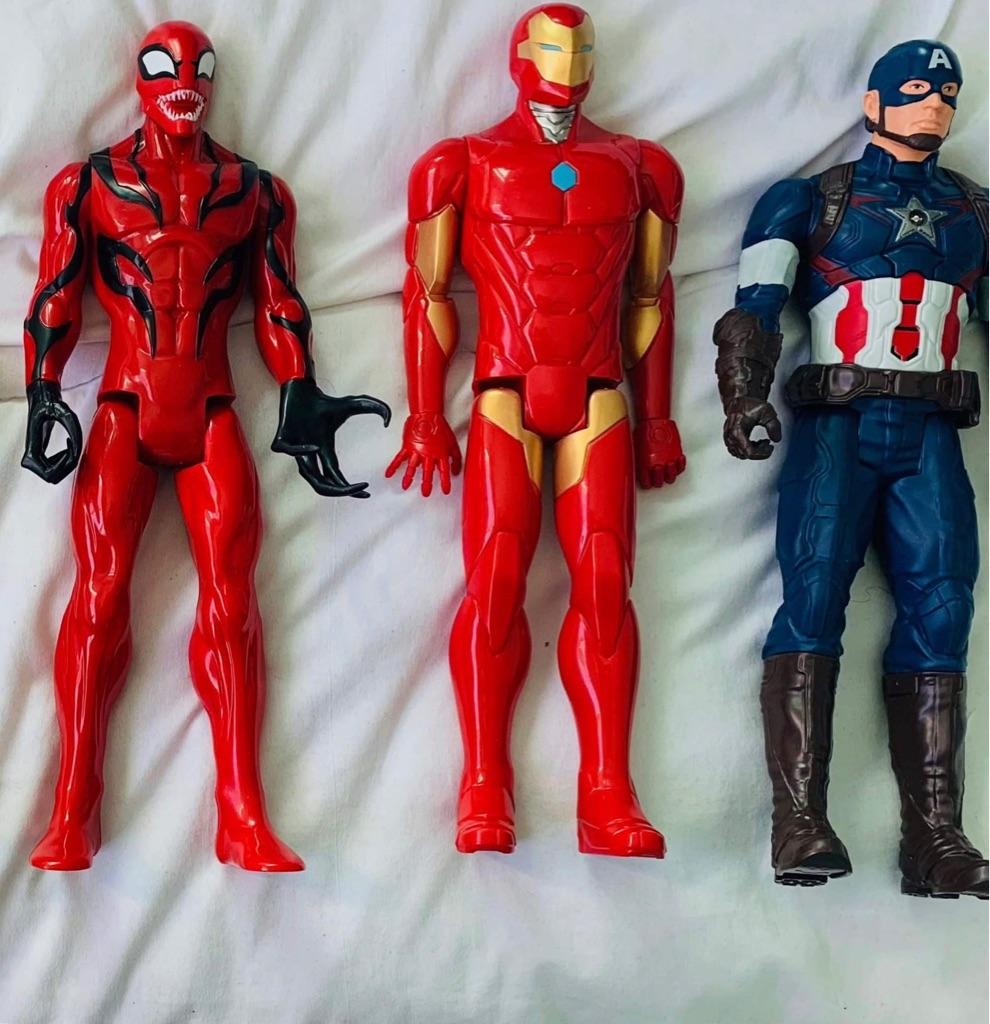 Interactive Marvel Action Figures