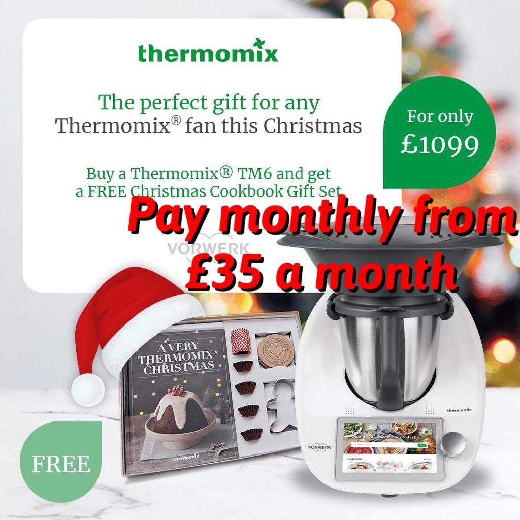Thermomix TM6 Kitchen appliance robot cooker steamer the ALL in ONE