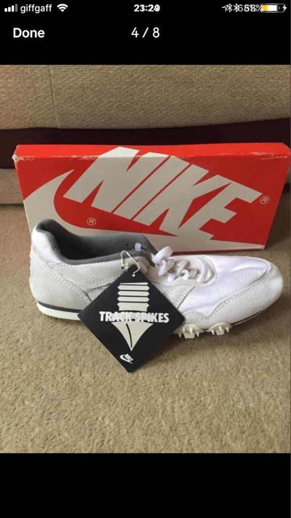 Size 7 Nike spikes