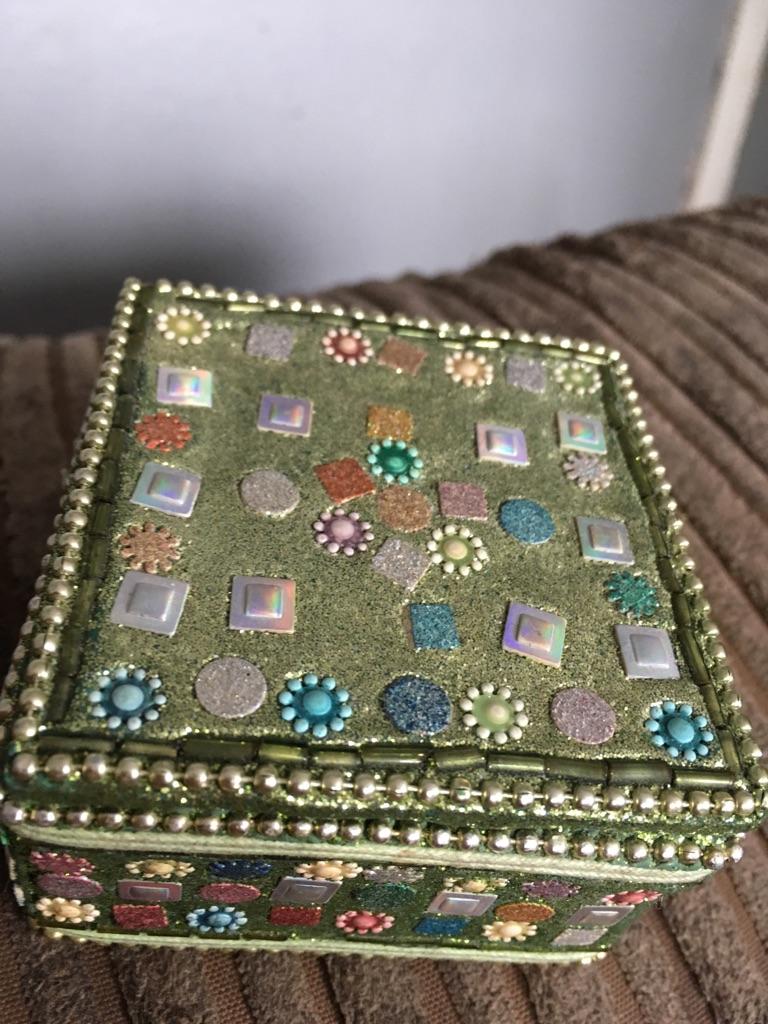 Beautiful small trinket box