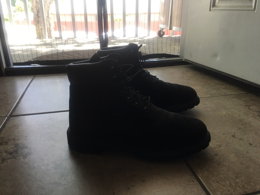 Timberland boots suede 10.5