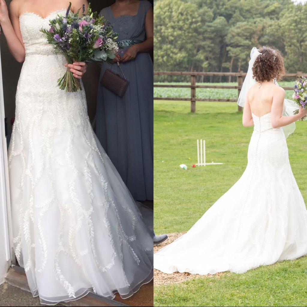Lillian West 6630 Wedding Dress