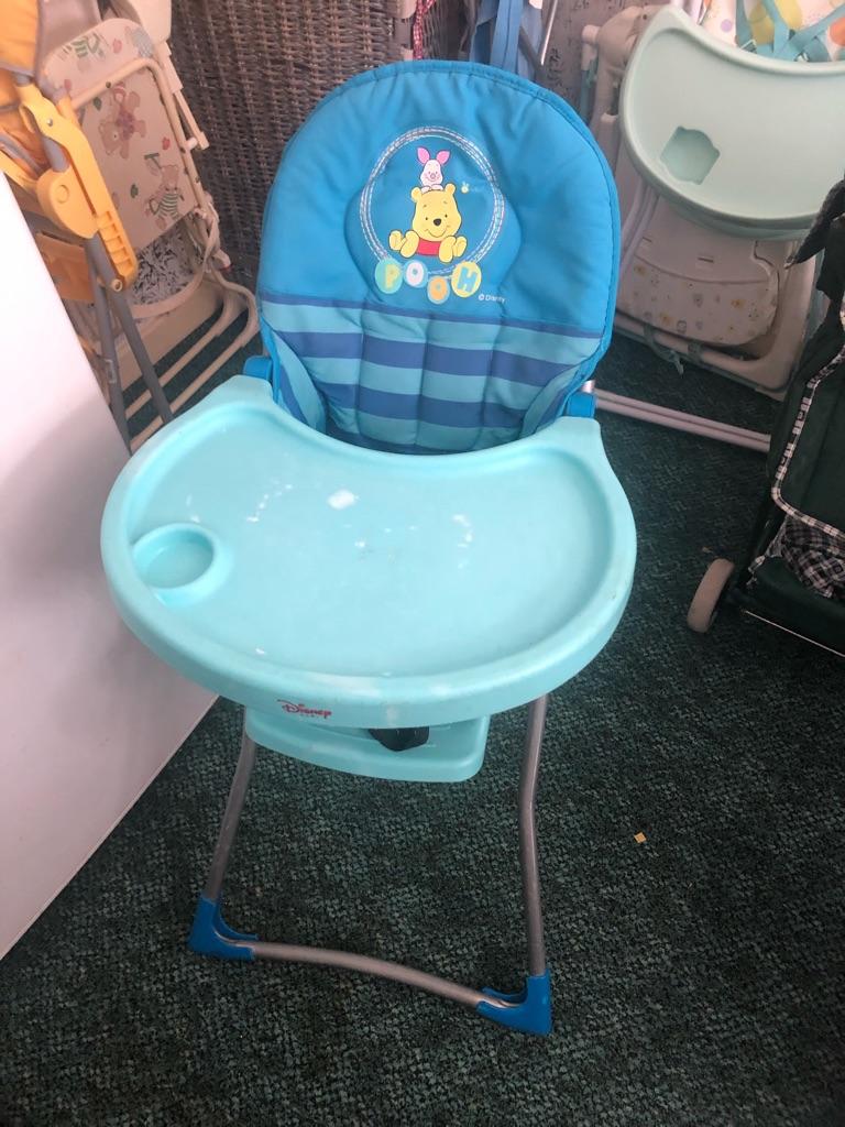 Winnie the Pooh high chair