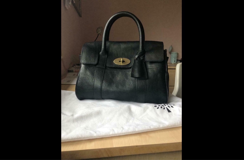 Mulberry Baby Bayswater Black