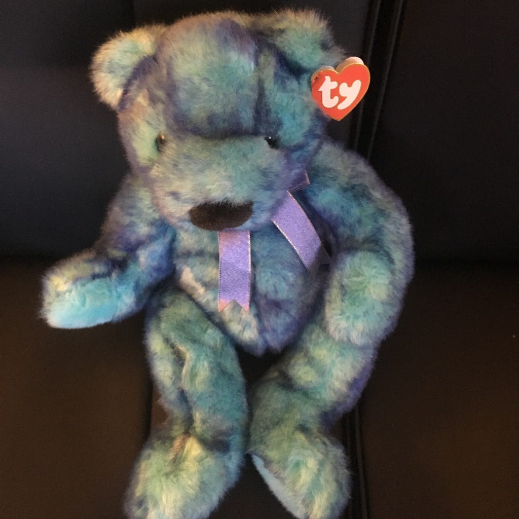 TY baby Blue Beary $ 25.00