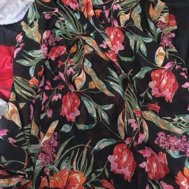Lady's floral top