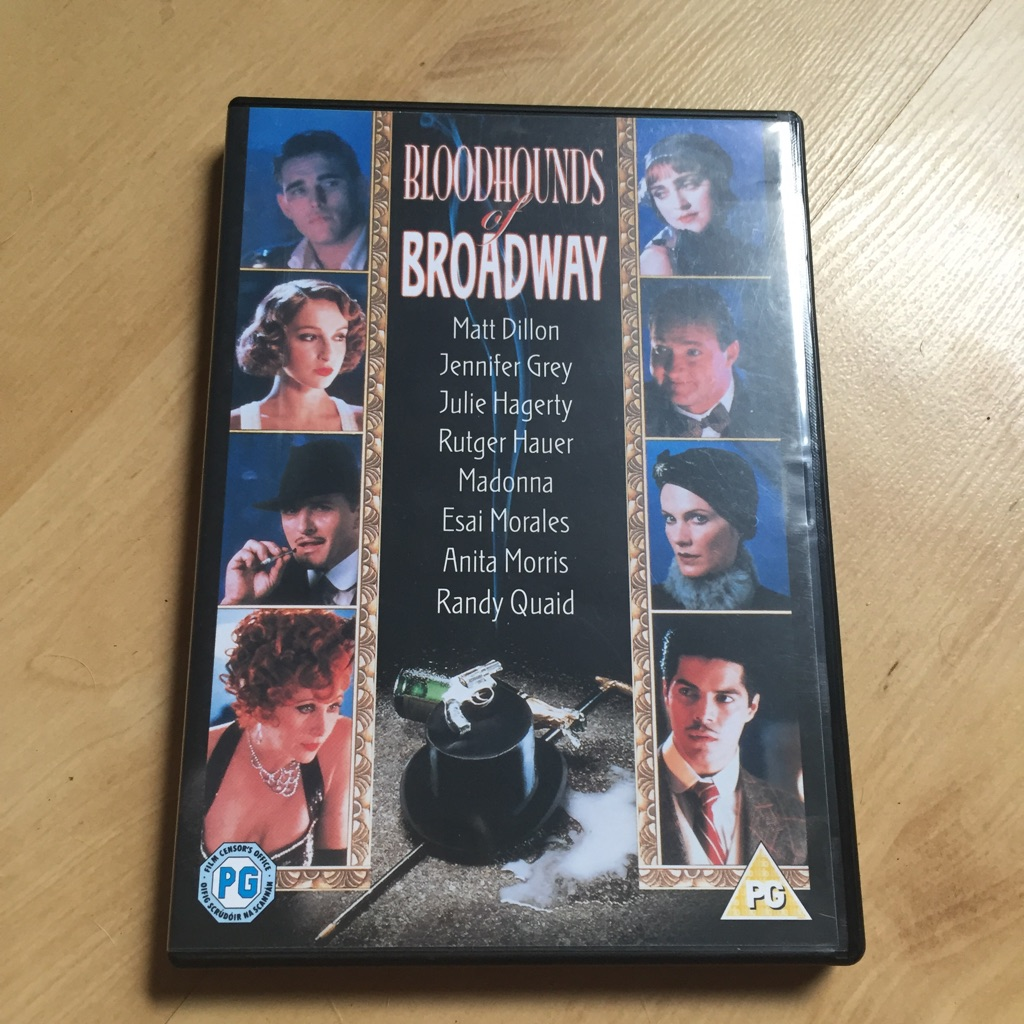 Bloodhounds of Broadway DVD