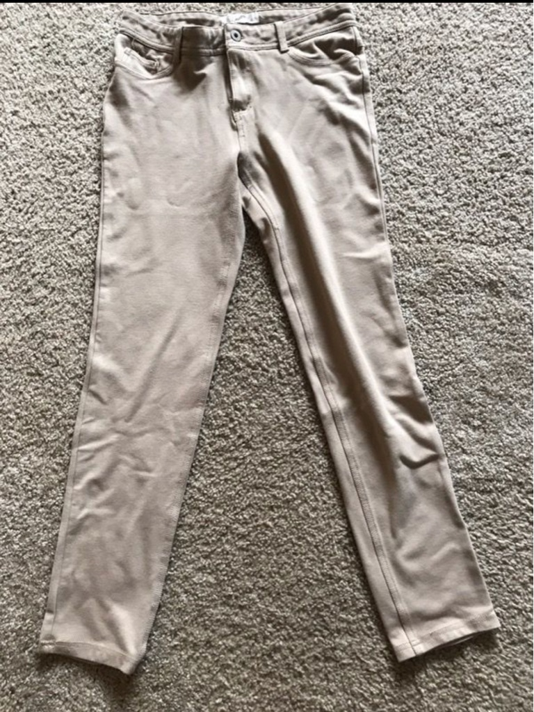 Ladies beige pants