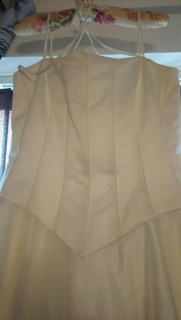 PEARCE FIONDA Ivory Wedding Dress