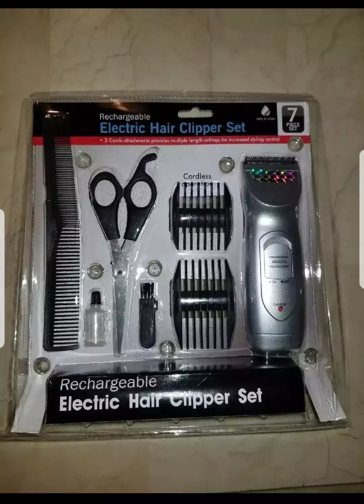 Mens Hair Grooming Set