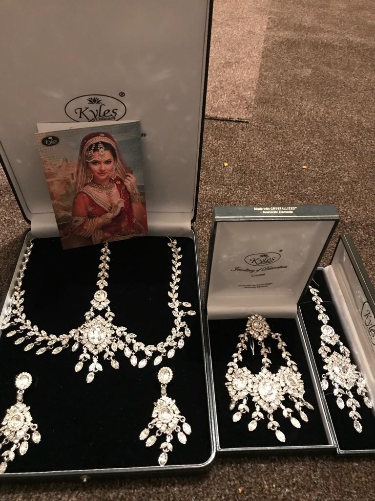 Kyles collection Swarovski diamond Jewellery sets