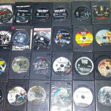 Several PS3 games