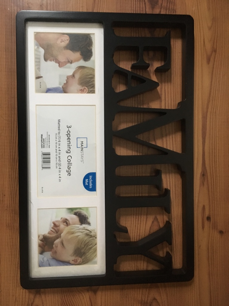 Brand new family photo frames $10 or best offer