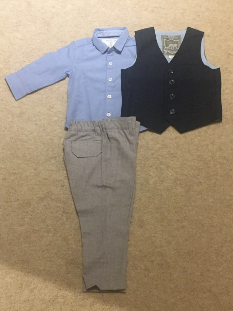 Baby Gentleman Outfit - 12-18months