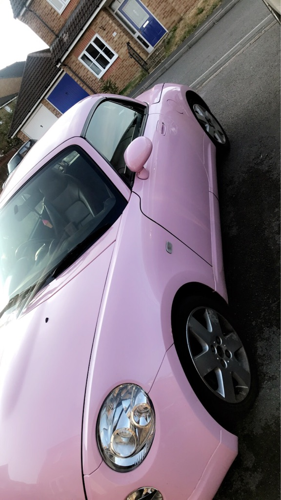 Daihatsu copen - pink