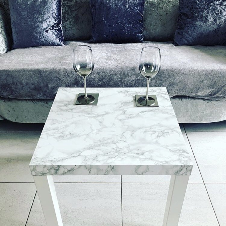 Marble Effect Table