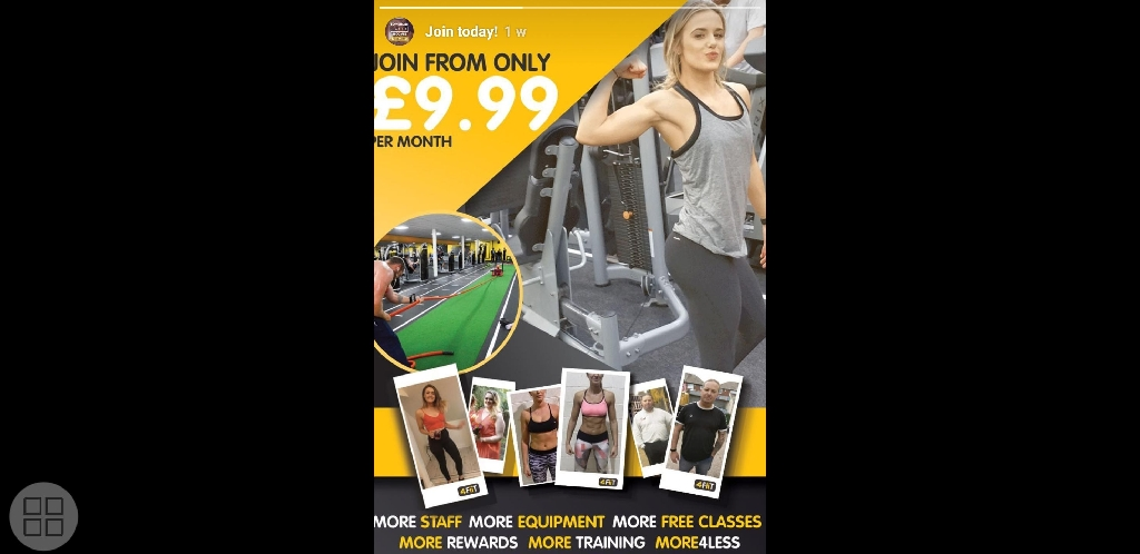 Gym membership xercise 4 less nottingham
