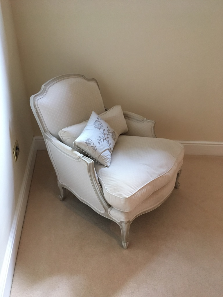 Laura Ashley Louis style chair