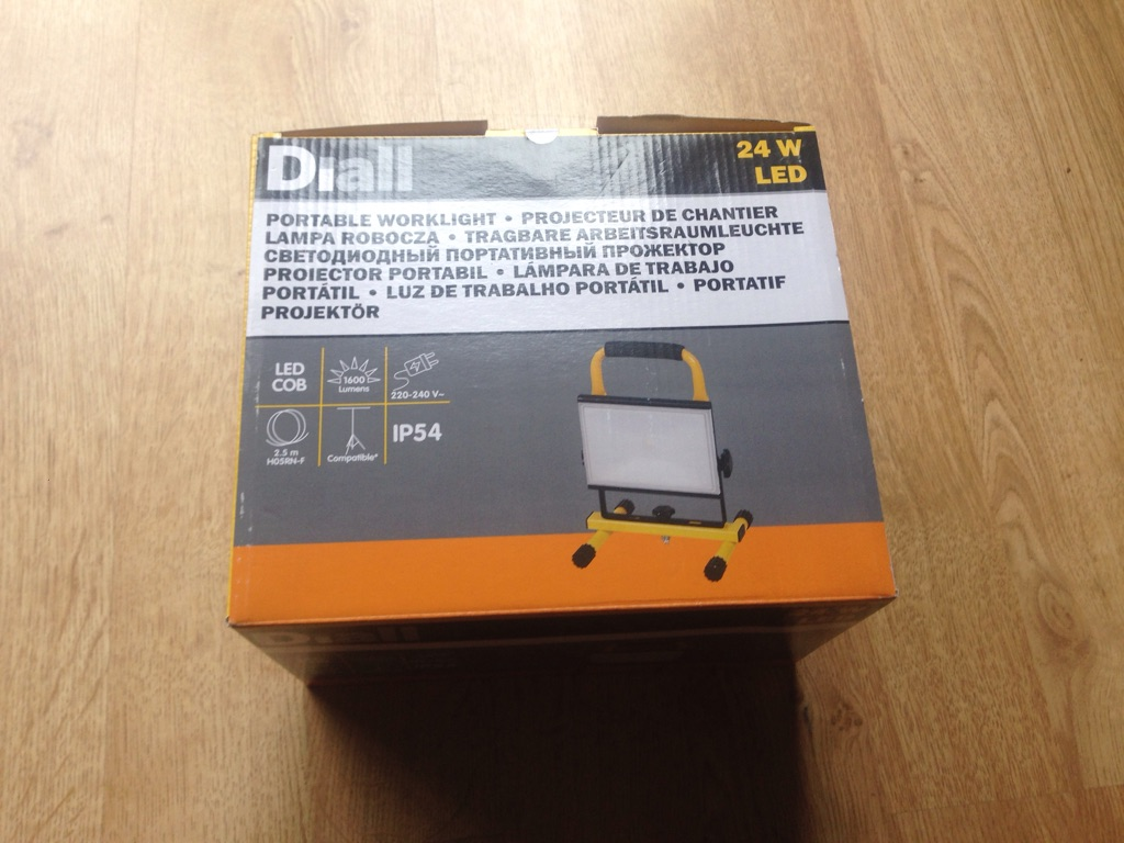 24w LED work light (2 available)