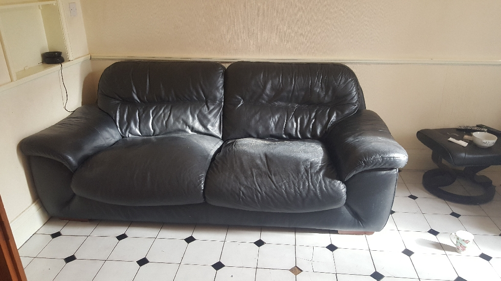 sofa and table and chair