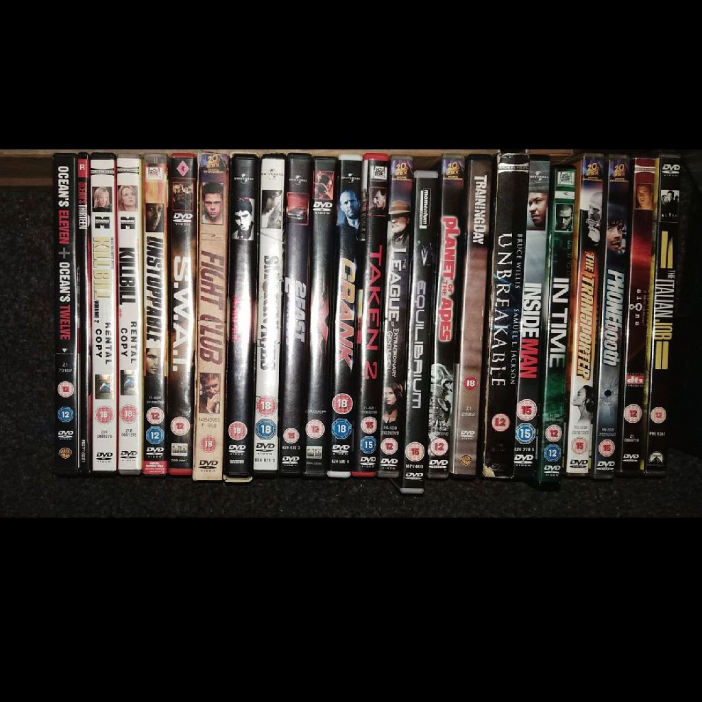 Mystery dvds