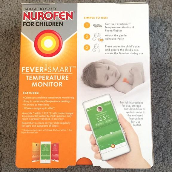 Nurofen fever smart temperature monitor