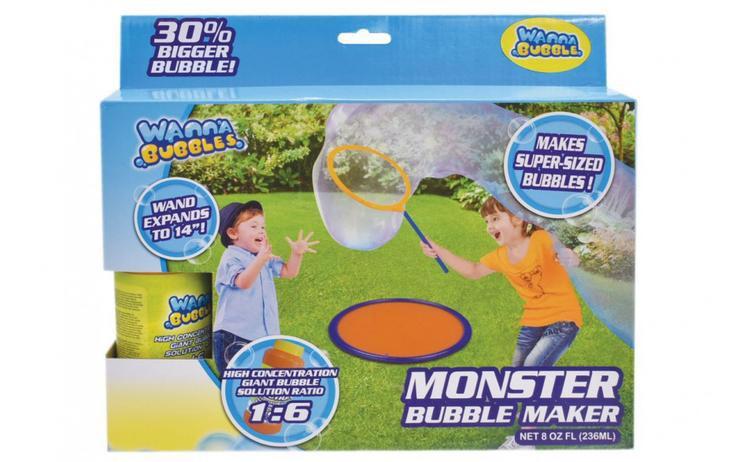 Monster bubble maker