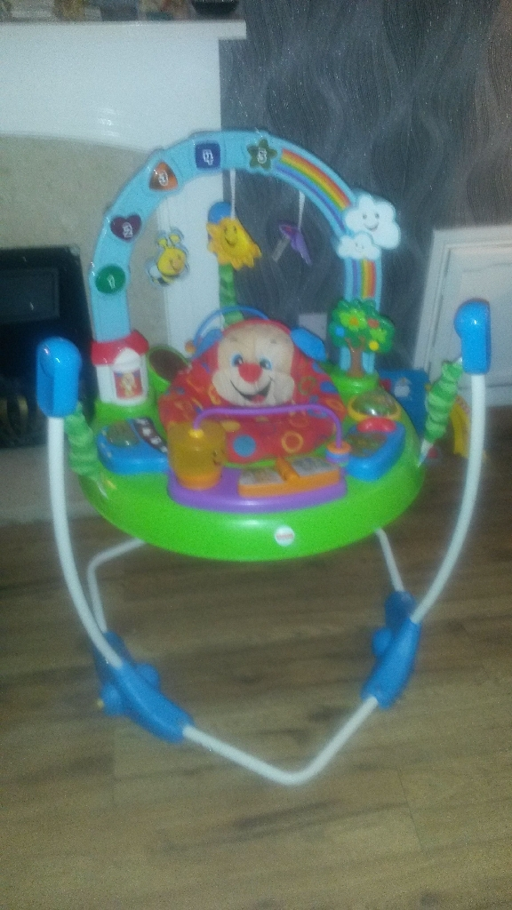 Jumperoo activity and learning