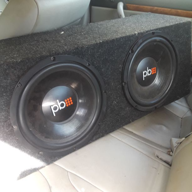 Pb 12 in speakers