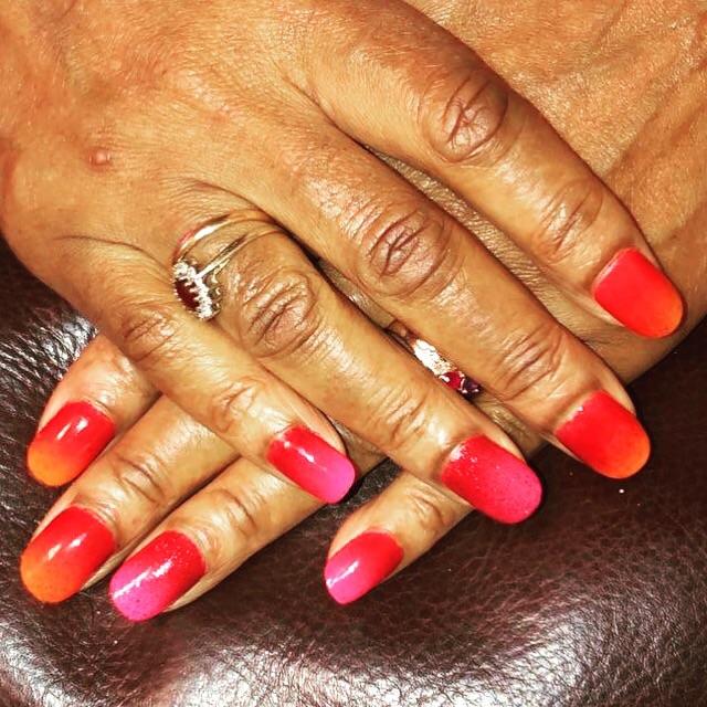 Gel x and polygel nails