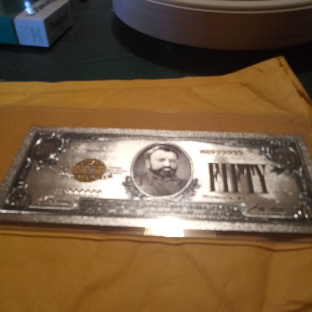 $50 silver certificate