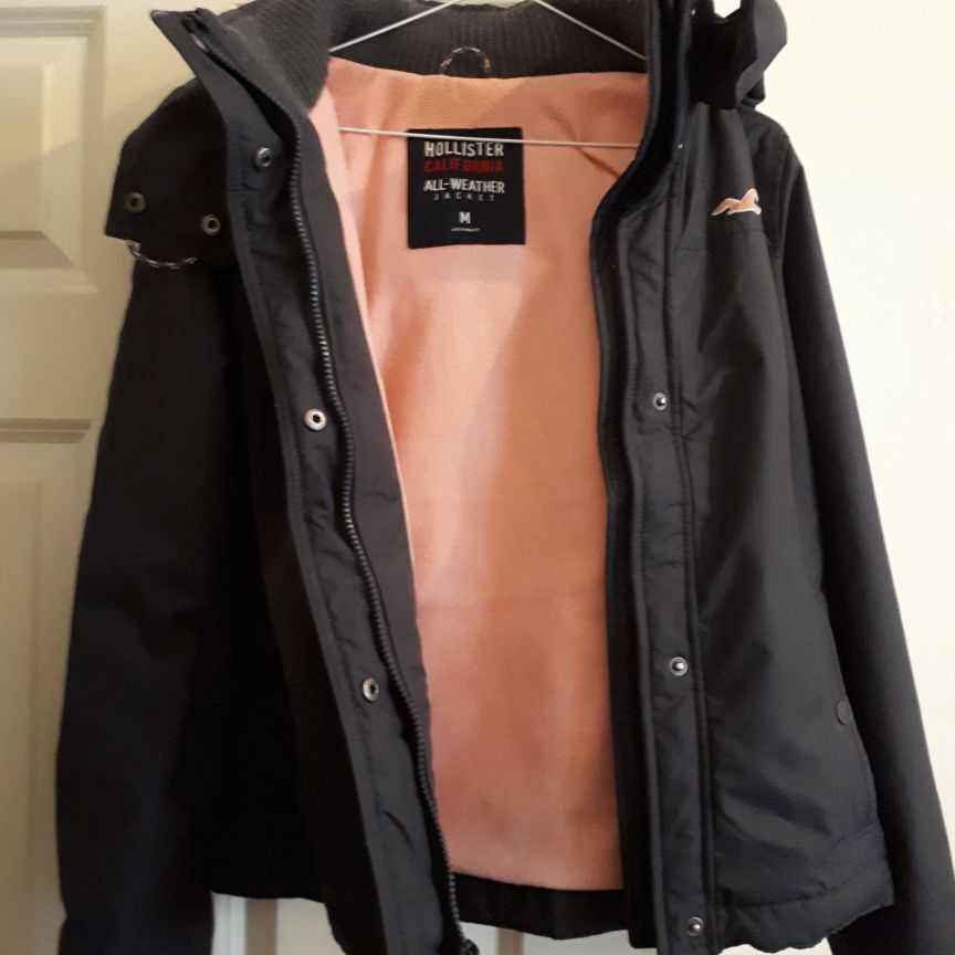Hollister jacket size 8