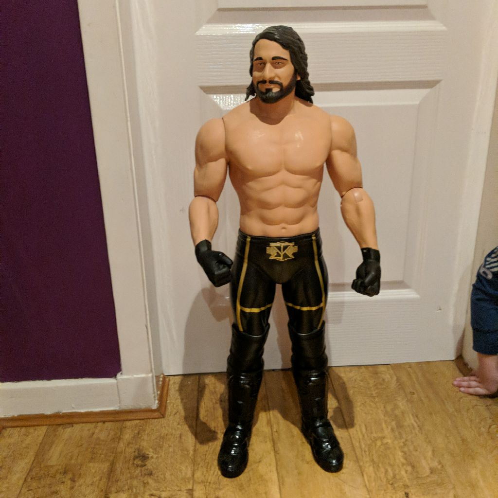 WWE Seth Rollins large figure
