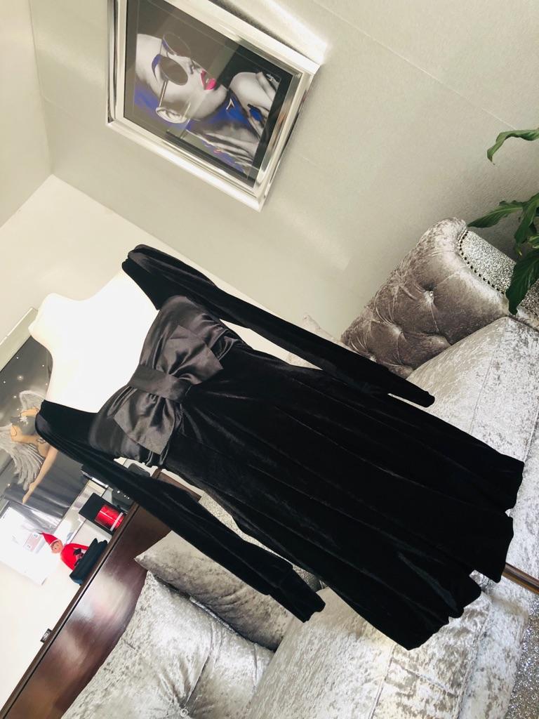 Women's Black vintage dress By j j size 10/12