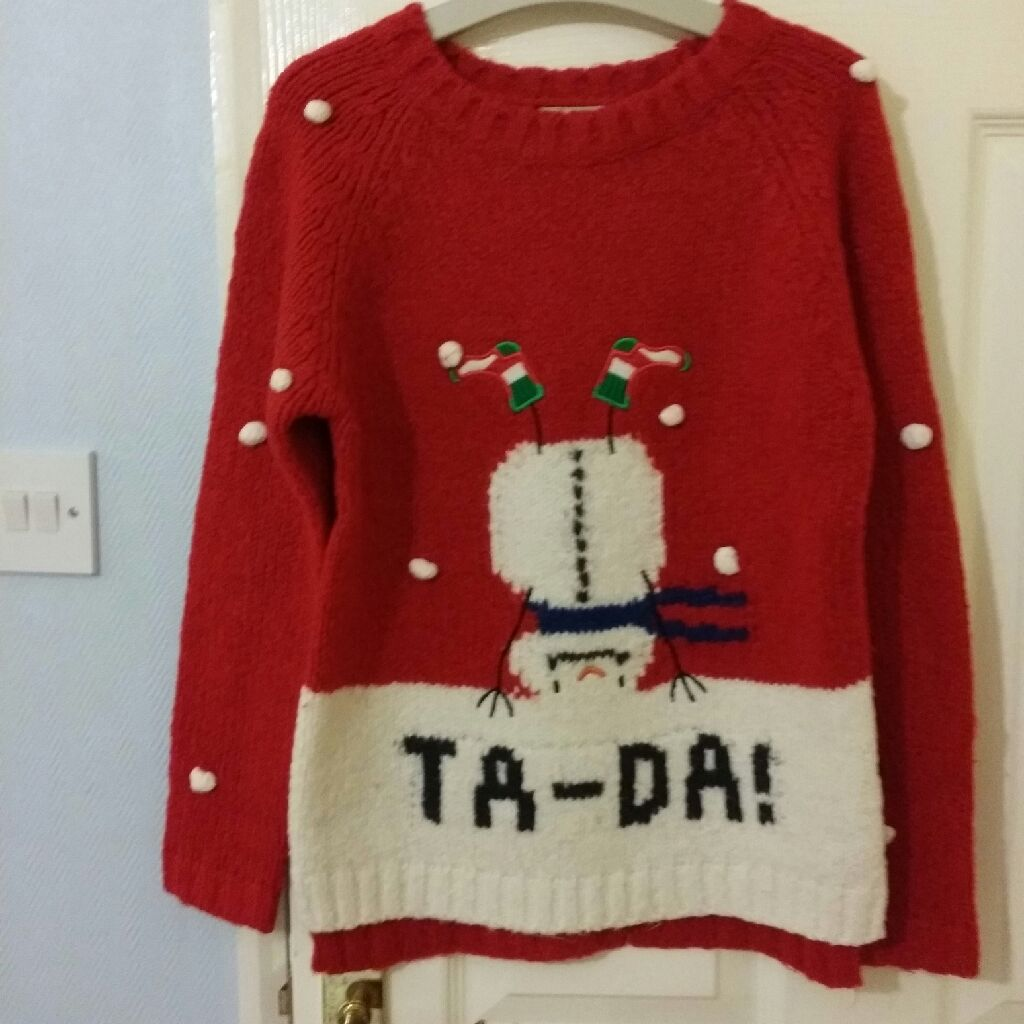 Girls Christmas jumper