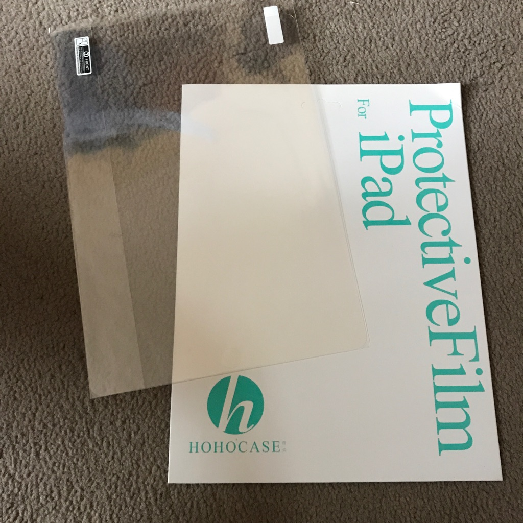 FREE iPad Pro 9.7 inches screen protector