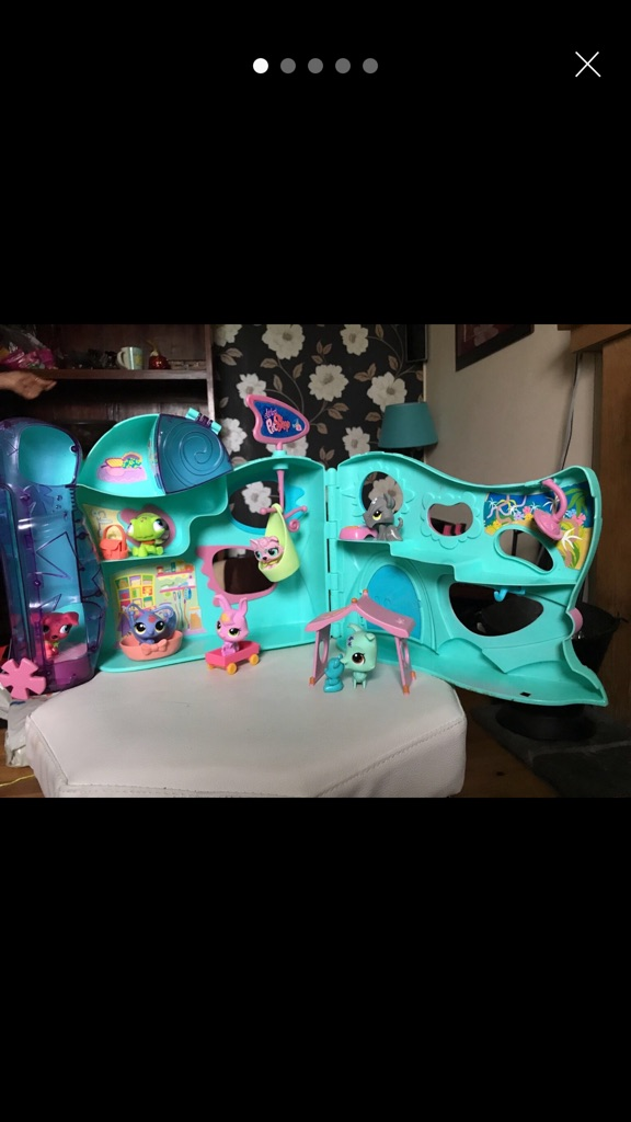 LPS Littlest Pet Shop funhouse set