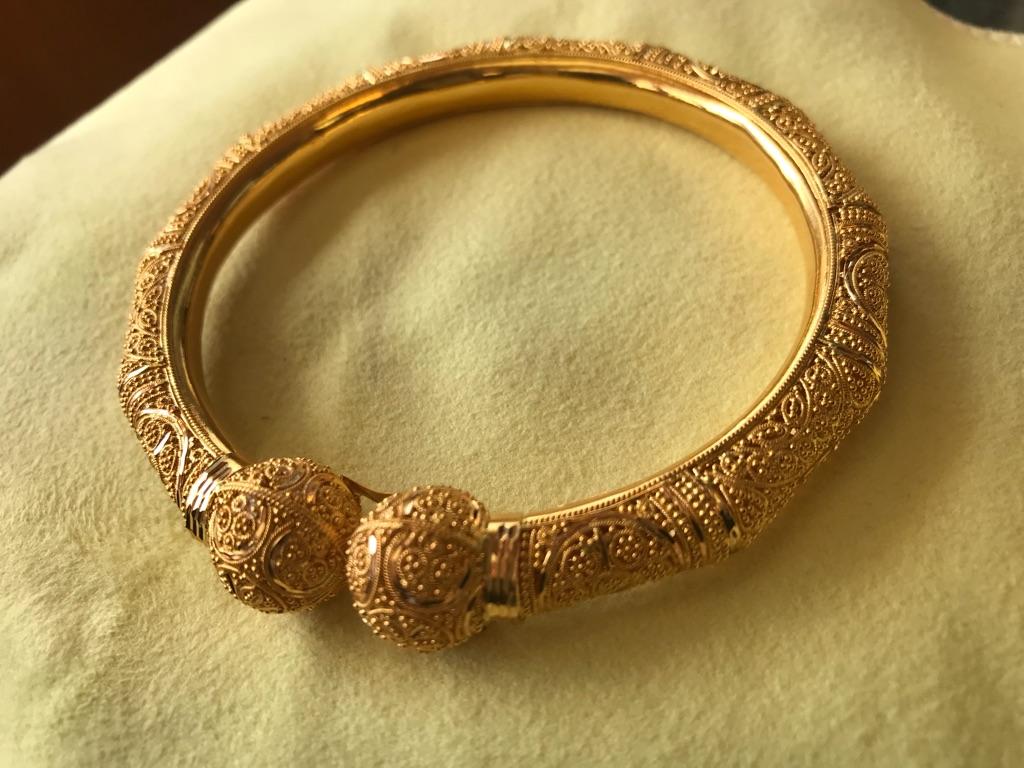22Carat Indian Gold 31.14g Bangle