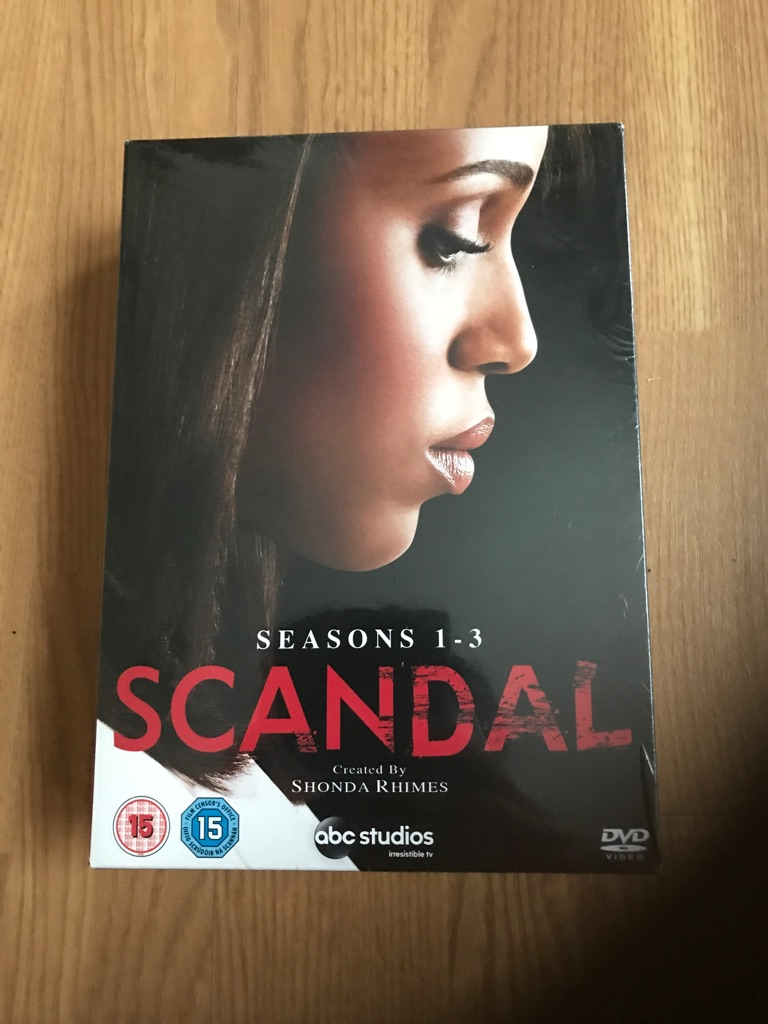 Scandal DVD Brand New Season 1-3