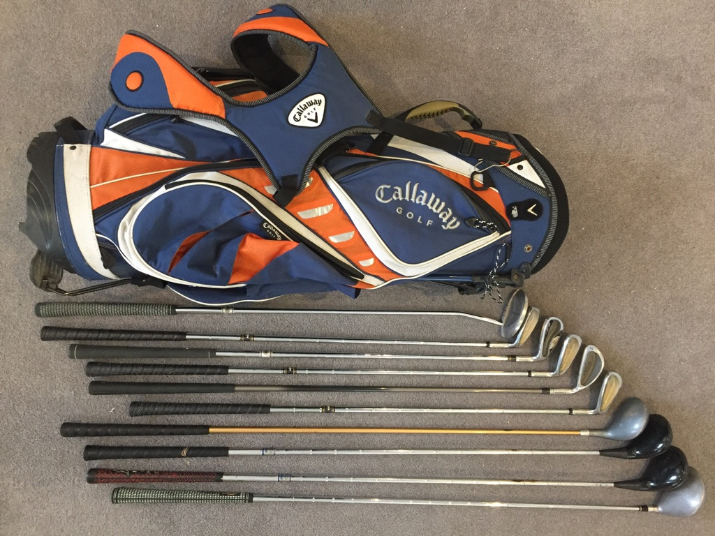 Golf bag/clubs
