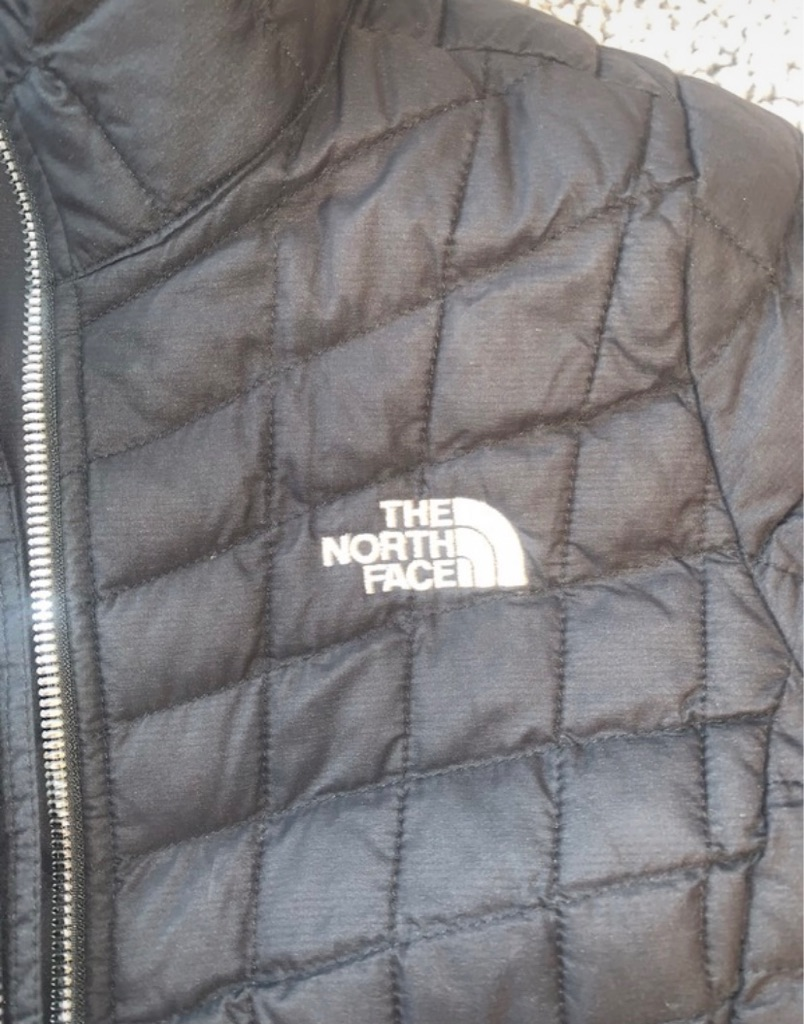 The North Face women's black jacket