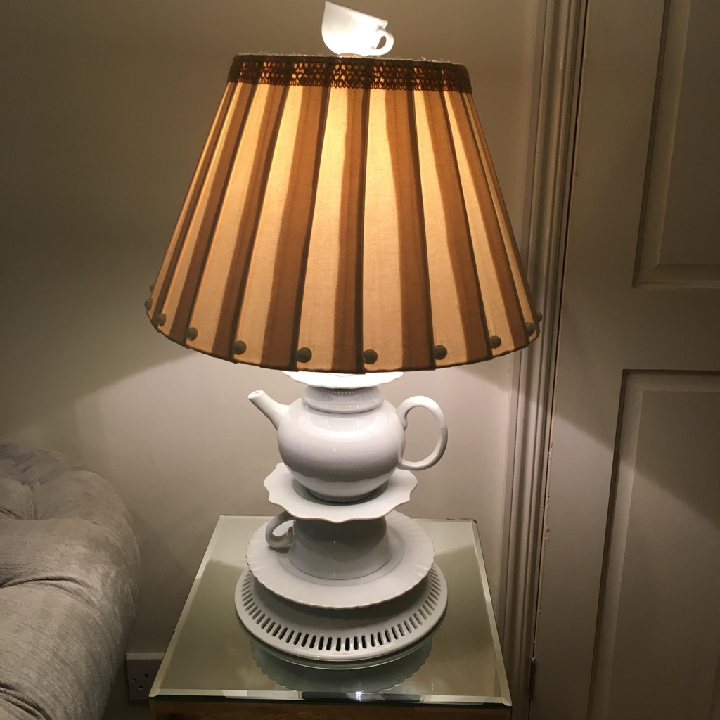 Anthropologie 'tea party' lamp
