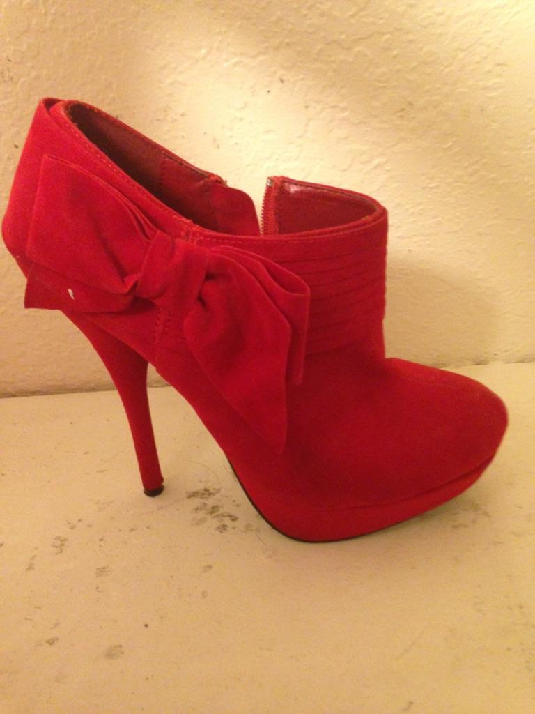 Red boot heels